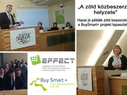 Konferenciák a zöld beszerzésről…